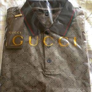 NEW Gucci Guccisima men's medium designer shirt